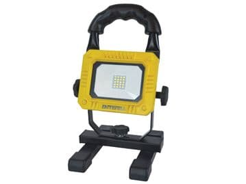 Faithfull Rechargeable SMD LED Work Light with Magnetic Base 900 Lumens 10W